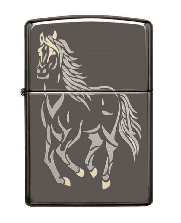 Bricheta Zippo Running Horse