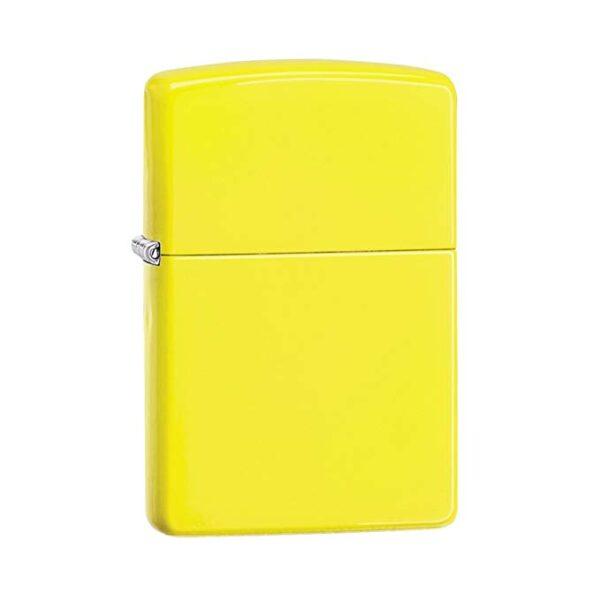Bricheta Zippo Neon Yellow