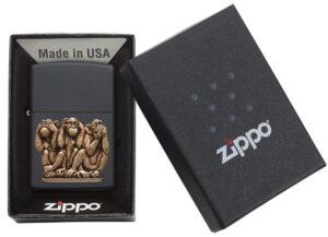 Bricheta Zippo Three Monkeys